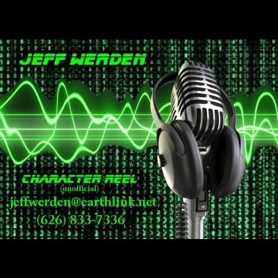 Jeff Werden - Voice Actor Demo Reel