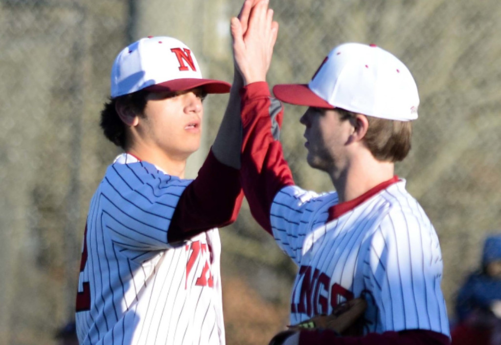 Ryder Willard stayed the course on the mound in a playoff clinching win.