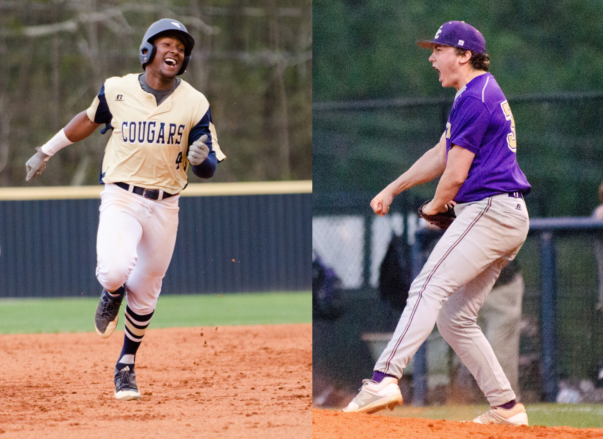 Newnan's K.D. Satterwhite was named Player of the Year and ECHS's Mason Frady Pitcher of the Year