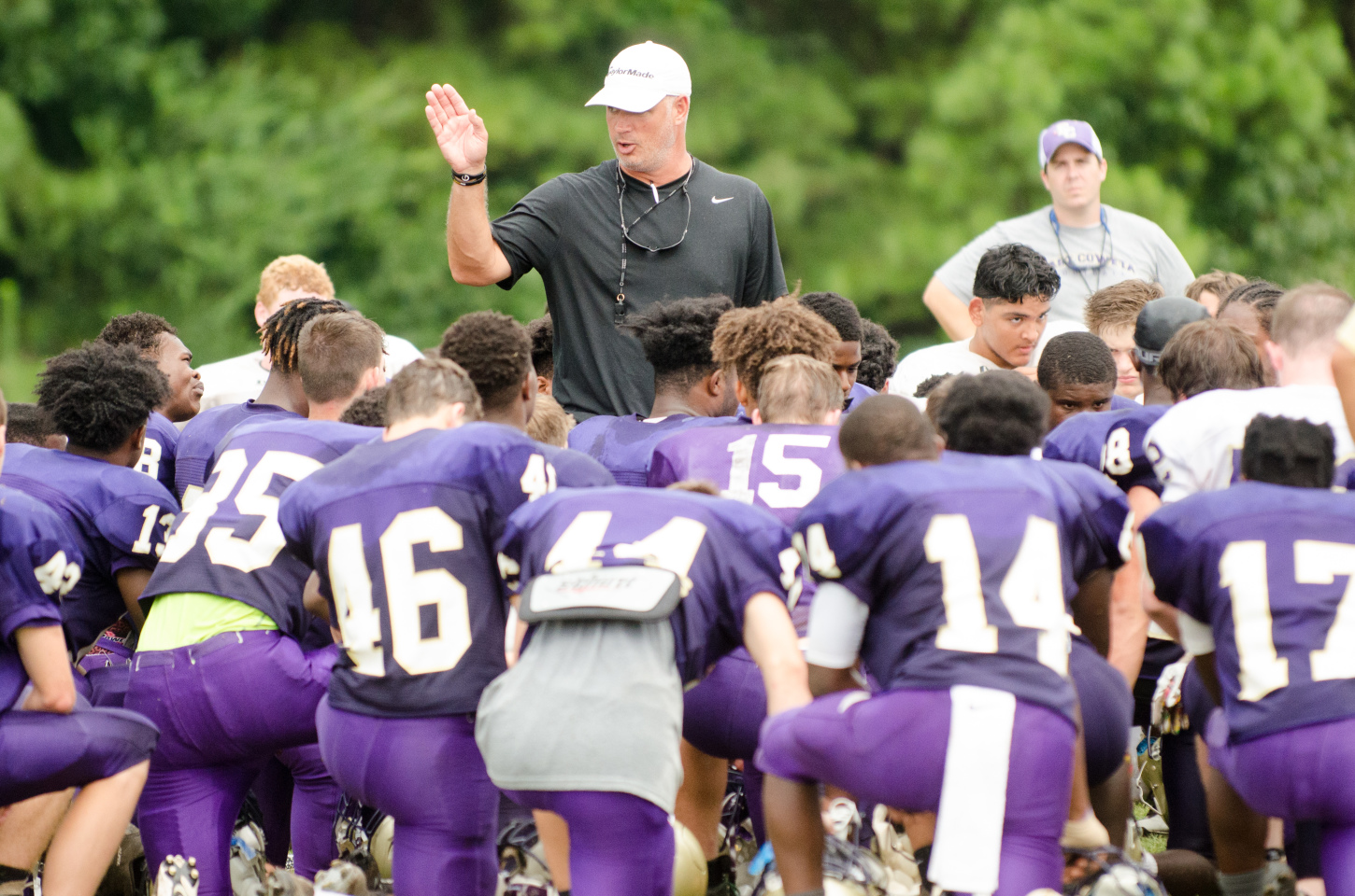 East Coweta takes the field for the first time under head coach John Small on Friday against Lovejoy