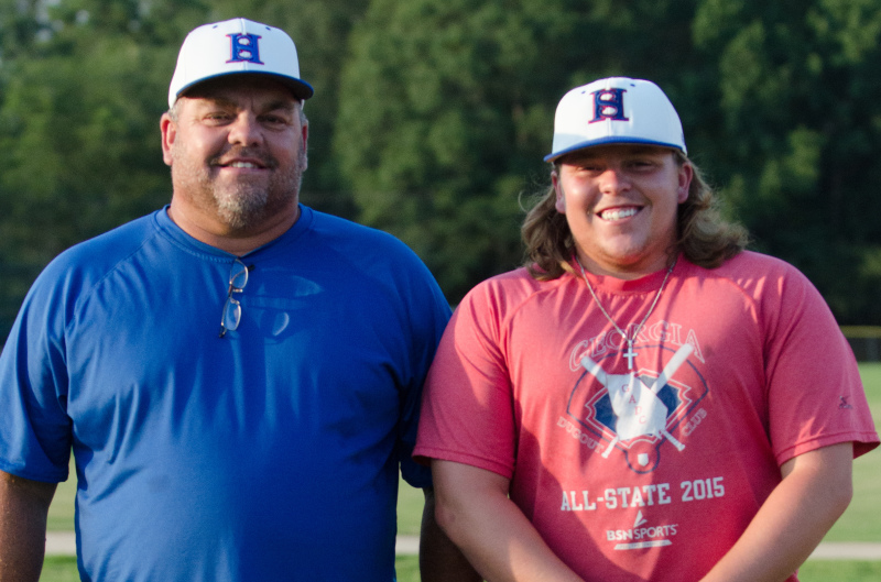 Greg Hamilton hiring as Heritage's new head coach reunites him with son, Jonathan, an assistant.