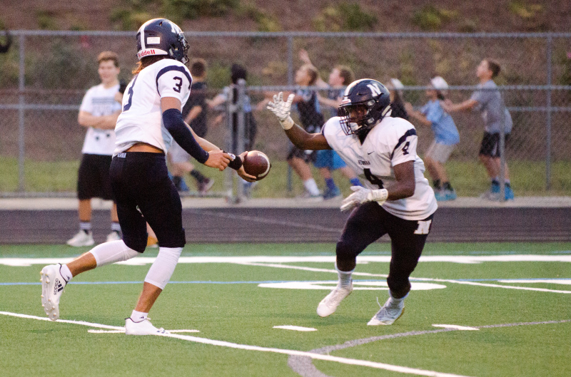 """Newnan senior Mautavier """"Whoady"""" Parks rushed for 291 yards and two touchdowns in last week's win."""