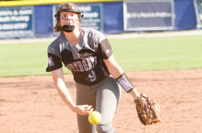 Northgate pitcher Alissa Bollinger shut out ELCA on Saturday and was 3-for-3 vs. Griffin.