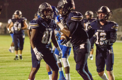 P.J. Harris and Newnan look to build on last week's win on Friday vs. West Forsyth