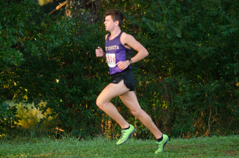 East Coweta sophomore Kyle Harkabus won the individual boys title at the Area 2-7A meet in 15:52.