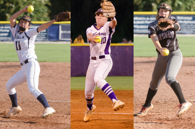 Pitchers Addie Andrews, Kelley Lynch and Alissa Bollinger lead respective teams into the playoffs.