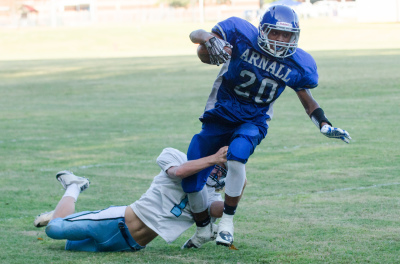 Arnall advanced to the CCMSAL semifinals with a 35-15 win over Lee last week.