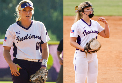 East Coweta teammates Kelley Lynch and Rachel Vaughan earned Class 7A Player and Pitcher of the Year