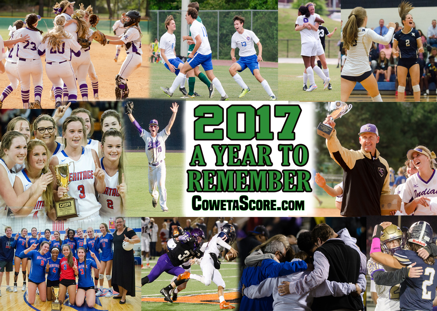 YEAR IN REVIEW: Ten reasons why 2017 was one to remember on Coweta County sports scene