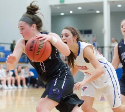 Trinity Christian guard Catherine Skebo matched teammate Abby Bragg with 19 points against Bethlehem