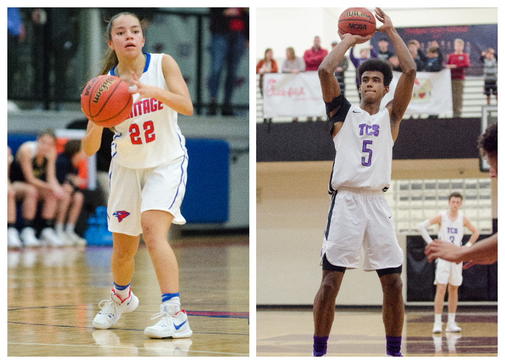 Heritage's Carissa Vasquez and Trinity's Erick Valdez look to lead teams into the 1-AAA semifinals