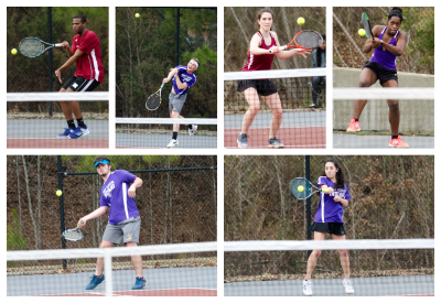 East Coweta and Northgate faced off at Northgate in a pair of close 3-2 decisions.