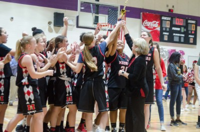 CCMSAL GIRLS BASKETBALL CHAMPIONSHIP: Third-seeded Madras Lady Eagles complete climb to top