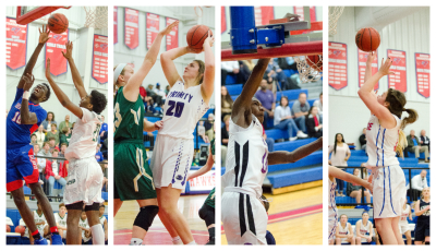 Heritage's boys and Trinity's girls finished as No. 2 seeds; The Lions and Lady Hawks finished third