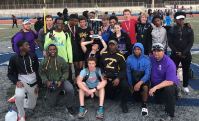 East Coweta's boys track team finished on top of a 16-team field at Westlake in its season debut.