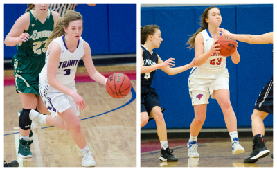 Heritage School and Trinity Christian girls lineups were unable to advance through the first round.