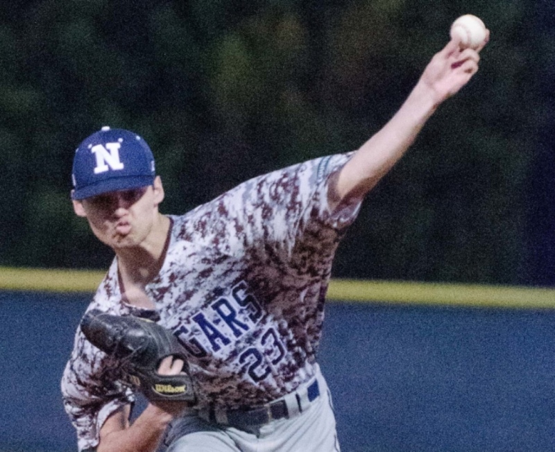 Newnan junior Jaxon O'Neal struck out 12 in a 5-1 win over Westlake.