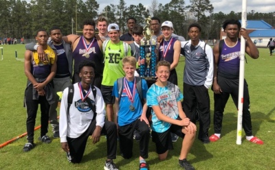 HS TRACK: Indians add another victory, finish first at Eagles Landing Invitational