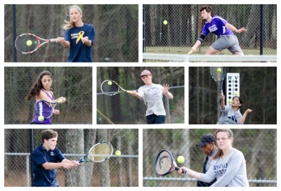 Gusting winds played a factor in Tuesday's region match between host East Coweta and Newnan.
