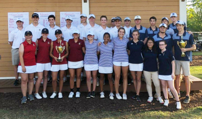 The annual Coweta Cup golf tournament was held over nine holes at White Oak.