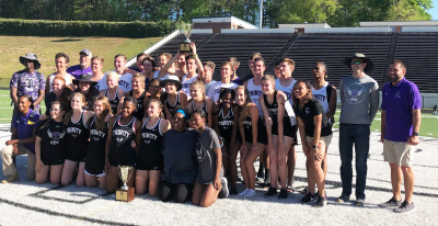 Trinity Christian's track teams swept Region 1-AAA meet titles at Tara Stadium.