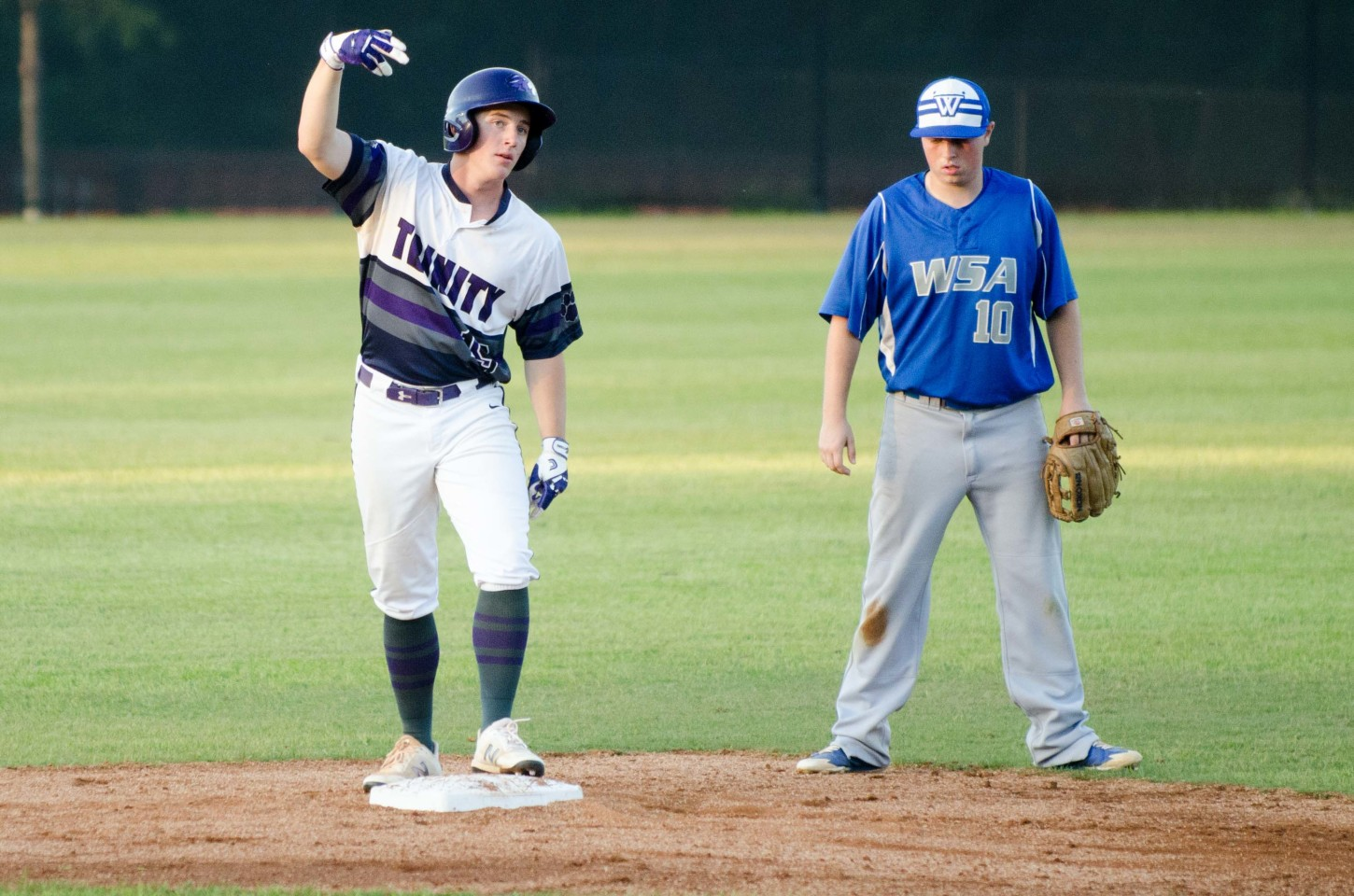 Cal Smith hit two of Trinity's six home runs in a first-round DH sweep last week.