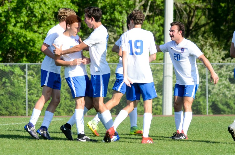 Heritage School's boys earned a return trip to the GISA Class AAA Final Four with a 5-0 win.