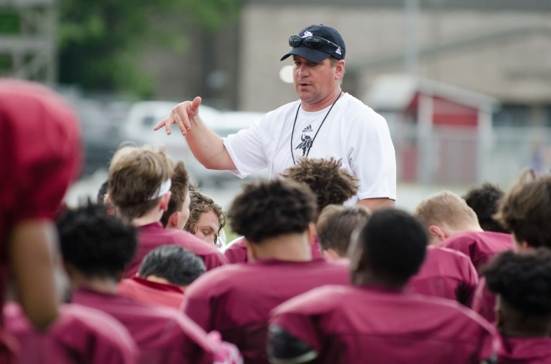 Mike McDonald begins his first spring as Northgate's head coach after being hired in March.