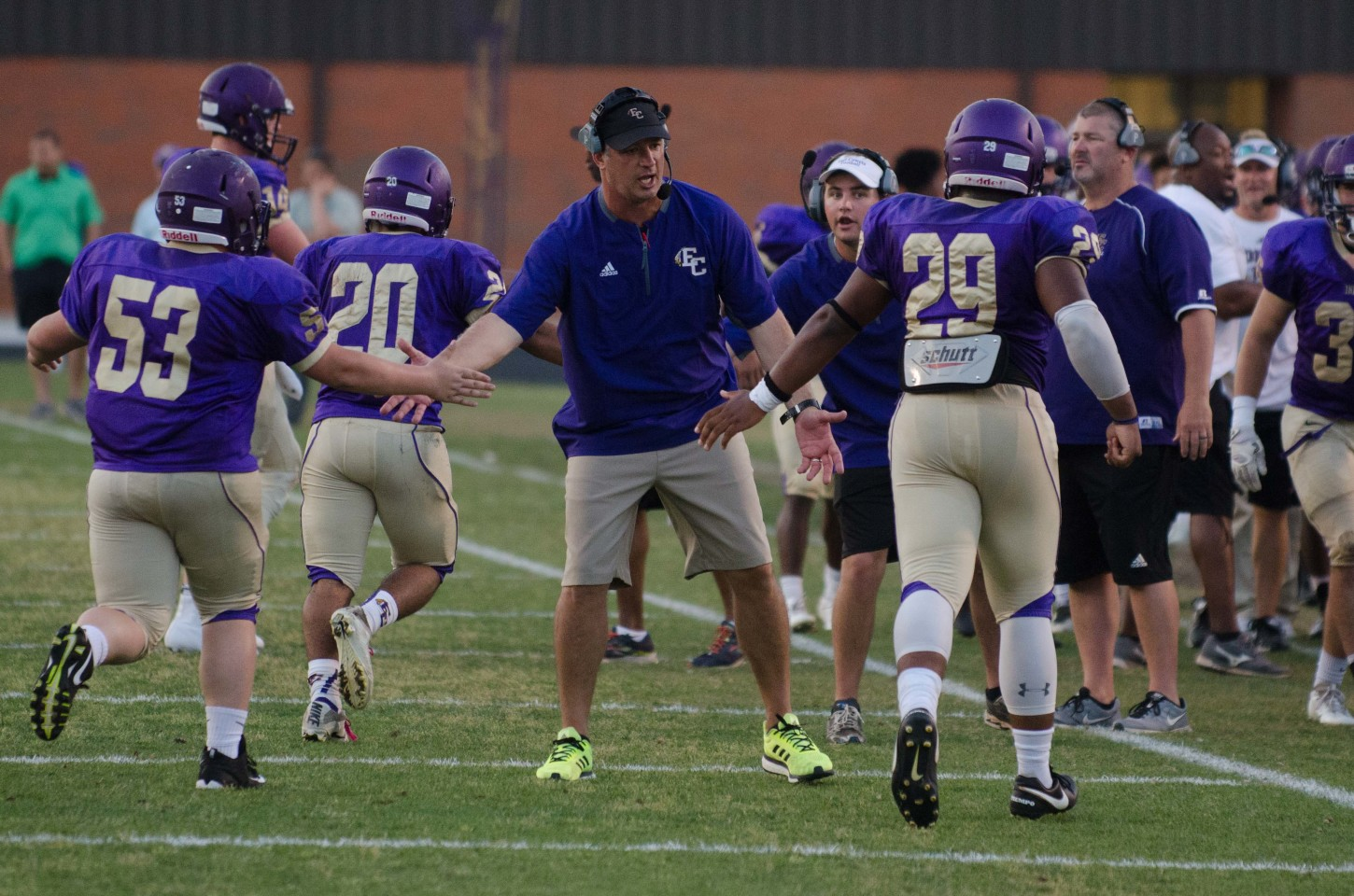 """Head coach John Small feels there's been """"a lot of carry over"""" among progress this summer"""