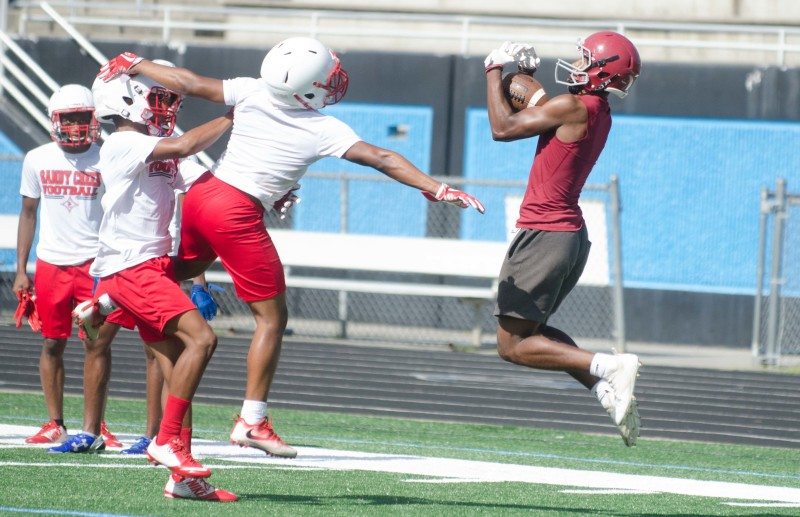Northgate competed in a pair of 7-on-7 workouts in June at Starr's Mill .