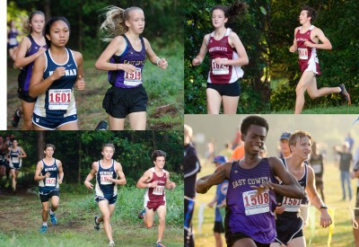 The 2018 cross country season kicks off Saturday, Aug. 18 for Coweta County lineups