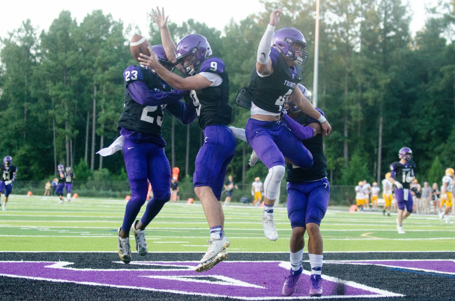 Trinity is likely to host a playoff game despite finishing fourth due to its Class A power ranking.