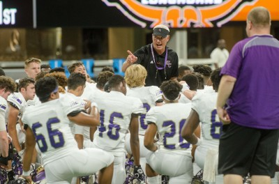 East Coweta head coach John Small continues to praise the Indians' work ethic through an 0-4 start.