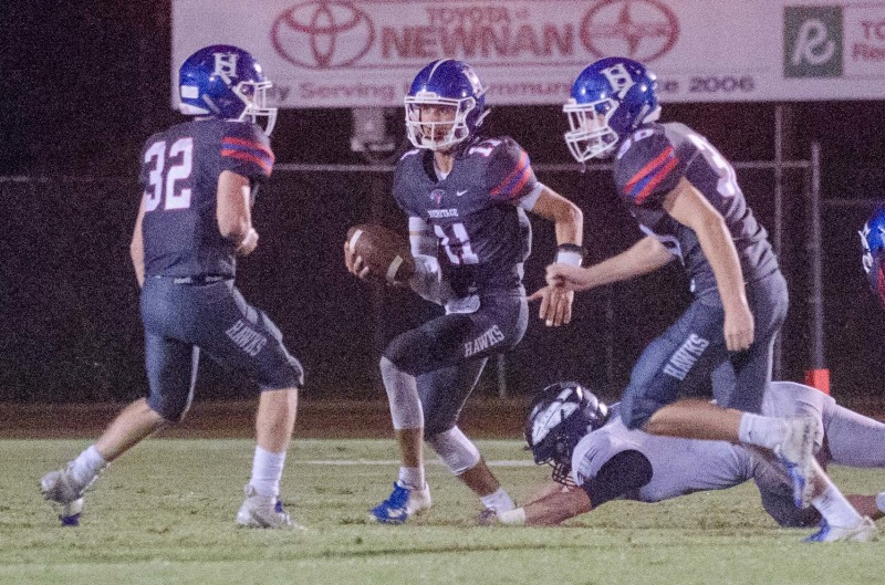 Heritage School capped off an undefeated record in Region 1-AAA with a 51-0 victory over Loganville