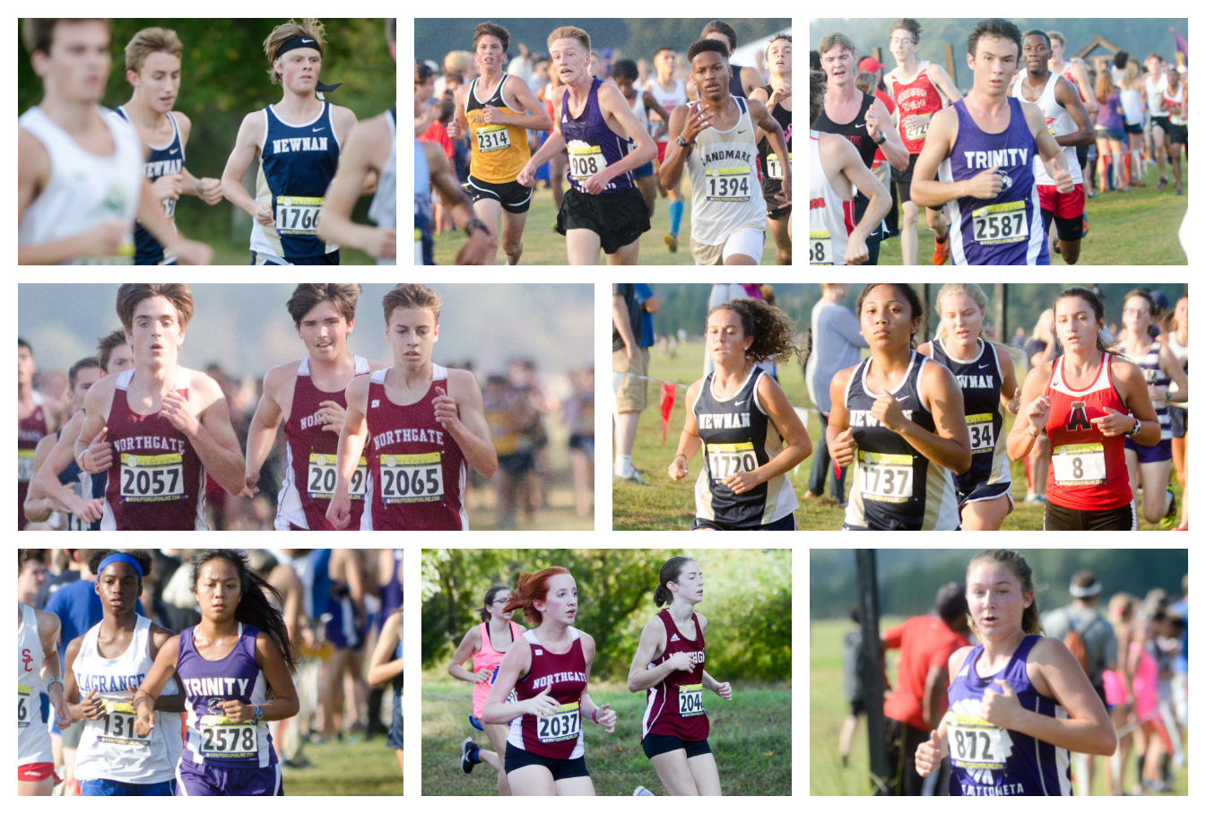 East Coweta, Newnan, Northgate and Trinity competed at the annual Asics Invitational