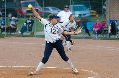 Junior pitcher Ansley Houston held KMHS to four hits and went 3-for-4 in Game 2.