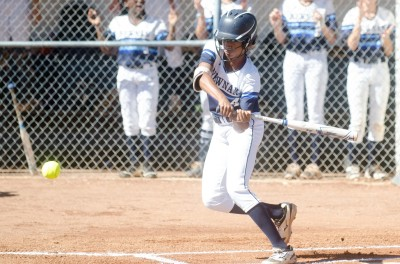 Sophomore K.K. Madrey had hits in both 2nd-round games against Lowndes as Newnan closed its season.