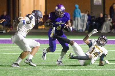 Gerald Green was forced to dig deep on 36 carries in the mud, rushing for 282 yards and 4 TDs.