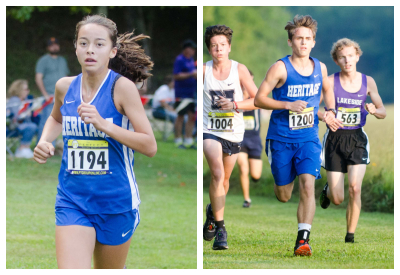 Sovi Wellons cruised to an individual victory at the Region 1-AAA meet while the Hawks also took 1st