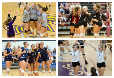 GHSA VOLLEYBALL PLAYOFFS: County lineups go undefeated while marching on to Sweet 16