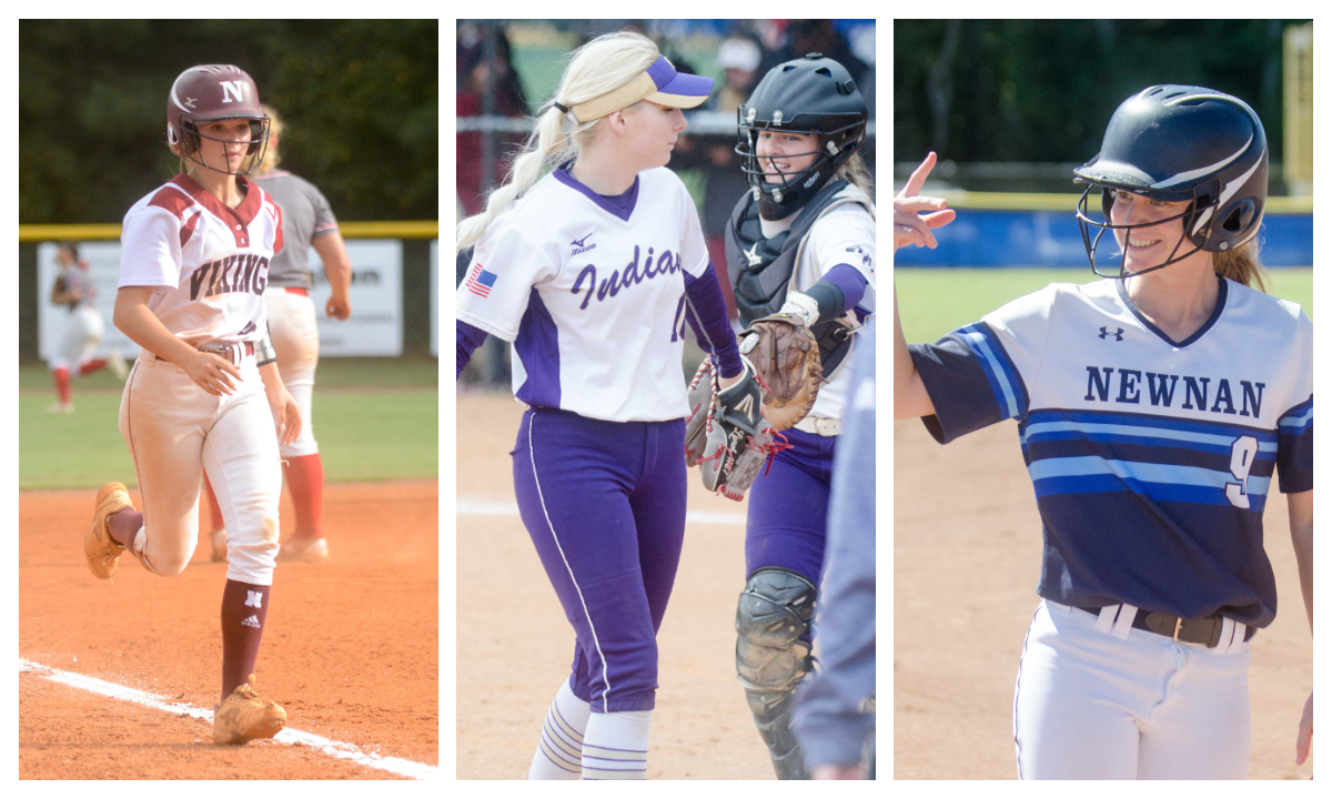 Ashley Kent, Kelley Lynch and Caroline Lively, and Hailey Bloom were named to All-Region teams.
