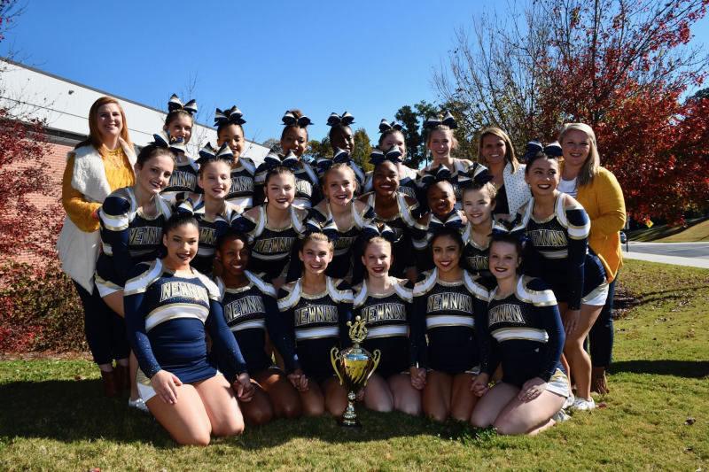 Newnan's competitive cheerleading team advanced to state after placing first in Region 2-7A.