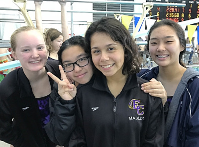 East Coweta girls set two new school records among relays in its season opener