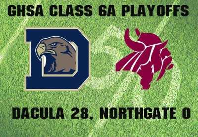 DACULA 28, NORTHGATE 0: Falcons slow down Vikings as turnovers take toll in shutout loss