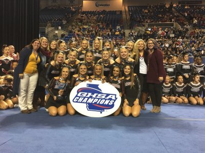 Photo GHSA: Northgate won its third consecutive Class 6A cheerleading title and ninth overall.