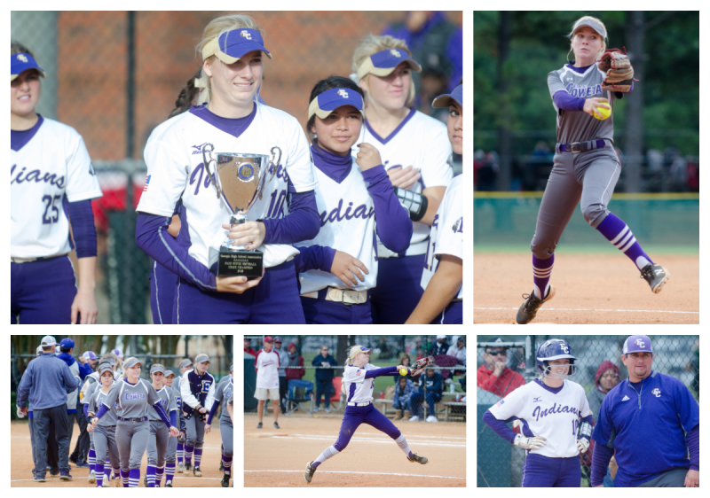 Kelley Lynch set 17 school records including seven this fall during East Coweta's state title run.