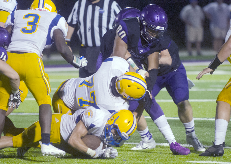 Defensive lineman Jordan Mitchell was named Region 5-A Defensive Player of the Year