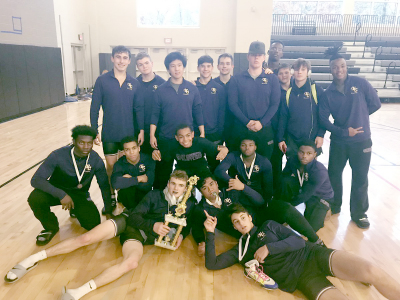 East Coweta had seven placers at the 2018 North Atlanta Warrior Classic.