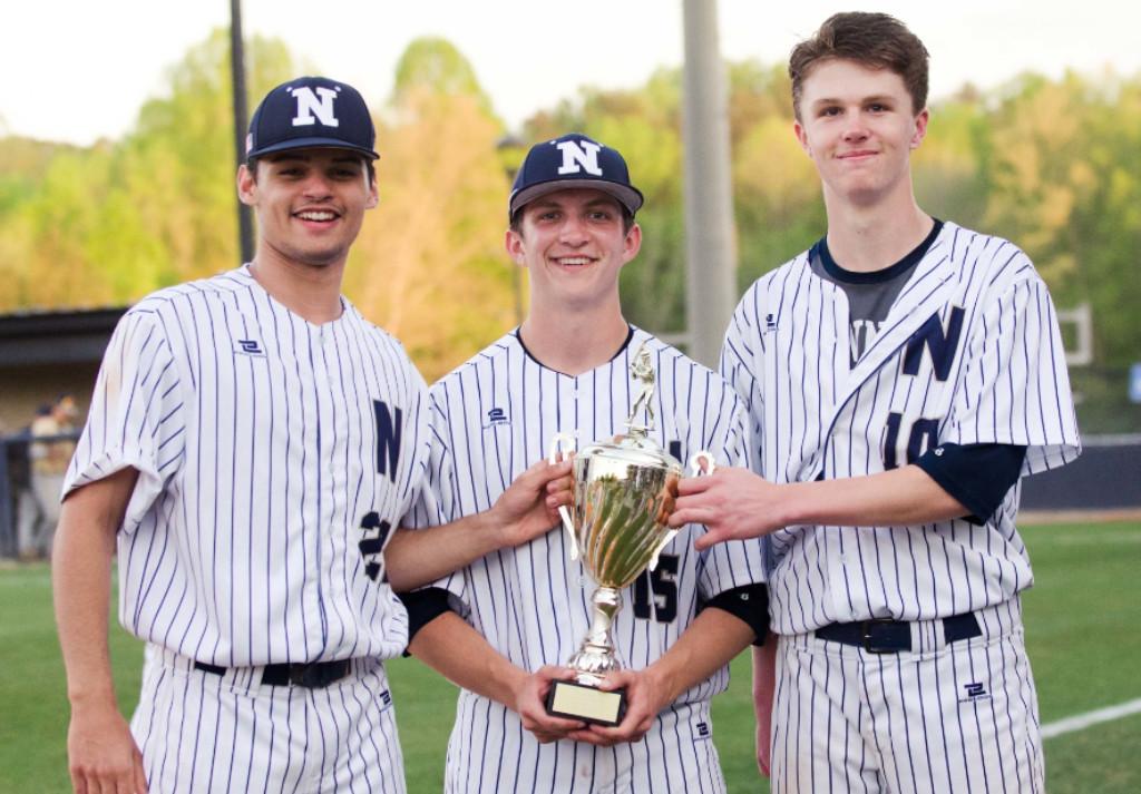 Juniors Jaxon O'Neal, Logan Hudson and Jake Martin went undefeated in 12 region starts.