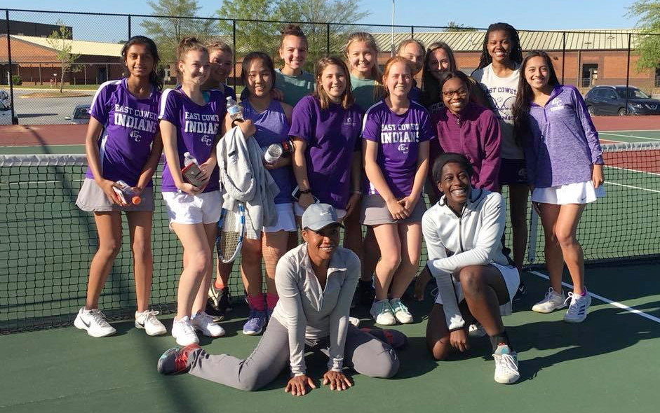 East Coweta's girls, coached by Jennifer Hornsby, adanced to the GHSA Class 7A Sweet 16